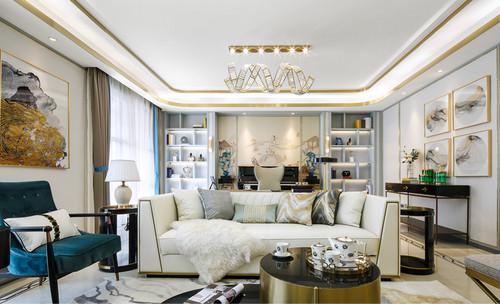 郑州本美设计工作室 三室轻奢现代风格