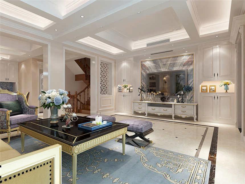 鑫苑名家别墅法式风格设计