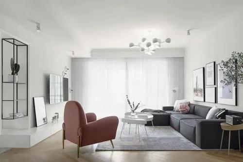 郑州设计工作室 享北欧从容生活