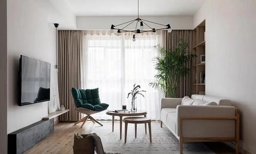 郑州家装设计工作室本美设计 简洁素雅日式风
